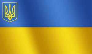 Флаг современной Украины