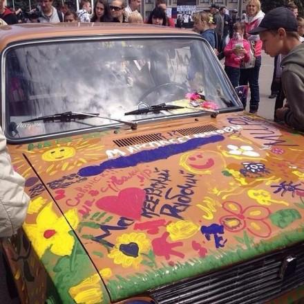Авто с игрушками для Славянска