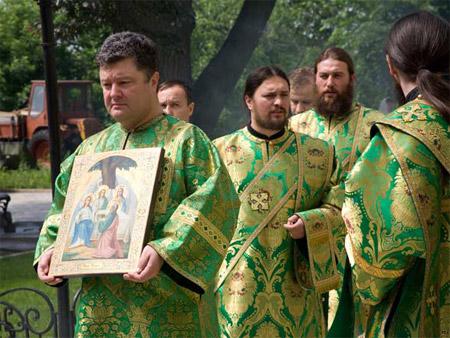 Президент посетил всенощные в Кафедральных соборах Киева трех восточнохристианских конфессий - Цензор.НЕТ 6080