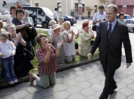 Председатель ЕС Дональд Туск прибыл в Киев: